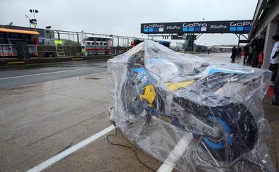 El asfalto de Silverstone arruina el GP de Gran Bretaña