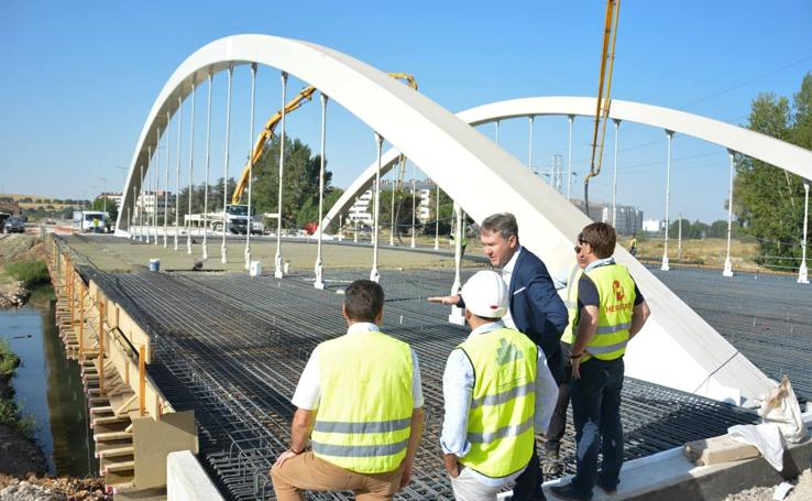 Nuevos puente en Las Rebolledas
