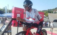 Jorge Cubero da al Burgos BH su segundo premio de la combatividad de la Vuelta