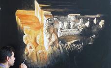 Santa María la Real acogerá la obra pictórica de Yordanov
