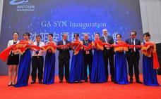 Grupo Antolin inaugura la planta china de Shenyang, que da empleo a 200 trabajadores