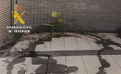 Detienen al presunto autor de los daños en el colegio de Villagonzalo Pedernales