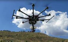 Drones para reforestar bosques calcinados en incendios forestales