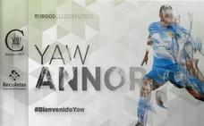 Yaw Annor completa la plantilla del Burgos CF