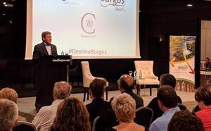 La provincia de Burgos se presenta en Pamplona ante más de 80 personas en el marco de La Vuelta