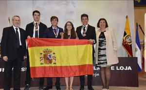Una burgalesa se hace con el oro en la XII olimpiada Iberoamericana de Biología