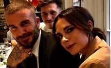 David Beckham deslumbra