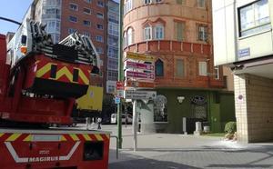 Susto sin consecuencias en Cultural Caja de Burgos