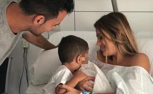 Nace el segundo hijo de Elena Galera y Sergio Busquets