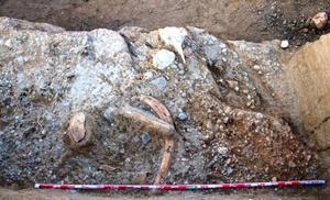 La VI campaña de excavación en Ambrosa saca a la luz utensilios del Paleolítico Inferior