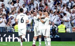 El Madrid pierde el brillo pero gana al Espanyol