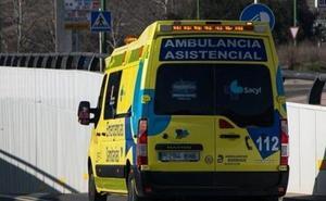 Tres heridos en un accidente de tráfico en Castrillo de la Vega