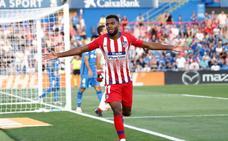 El Atlético se lleva los tres puntos de costumbre del Coliseum