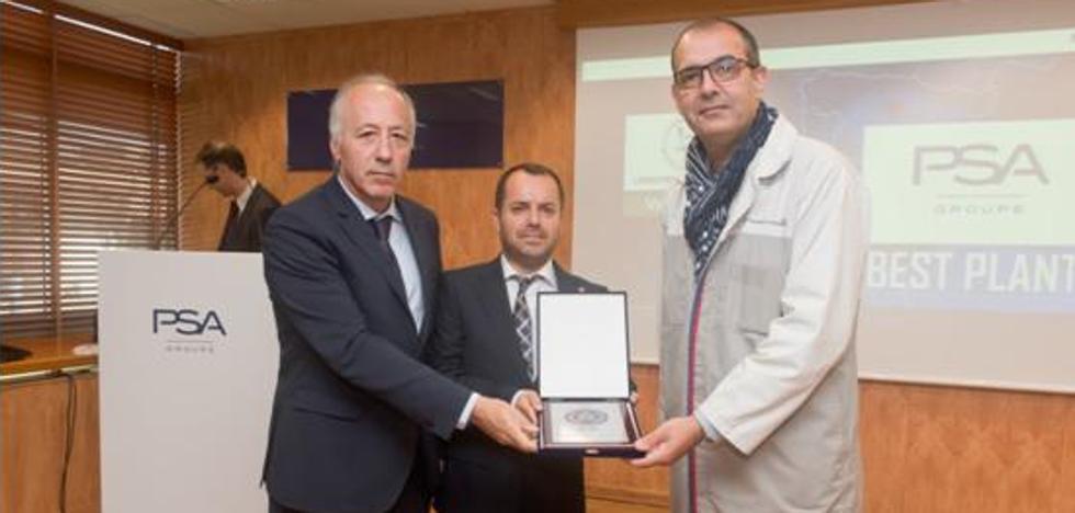 Lingotes Especiales recibe el premio a la Excelencia como proveedor del Grupo PSA