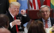 Trump defiende el patriotismo en la ONU