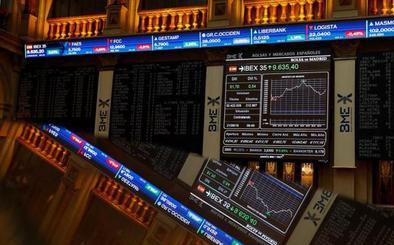 El Ibex-35 recupera los 9.500 puntos
