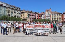 El portavoz socialista en Fomento se reunirá con la Plataforma del Ferrocarril Directo