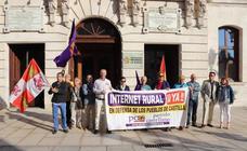 El PCAS pide implicación a la Junta y la Diputación en la cobertura del internet rural