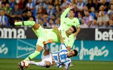 Piqué, señalado en un Barça sigue atrapado en Roma