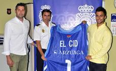 La Policía recupera la camiseta de El Cid del San Pablo Burgos, robada durante un partido