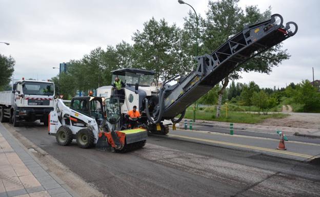 La carretera BU-910 permanecerá cerrada al tráfico pesado entre el 1 y el 5 de octubre