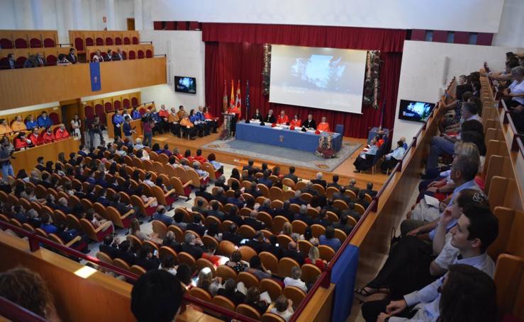 Inauguración del curso en la UBU