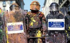 La tensión estalla en las calles de Barcelona en vísperas del 1-O
