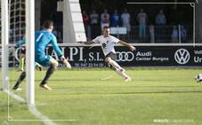 El Burgos CF merece más ante el Sanse pero sus errores le penalizan