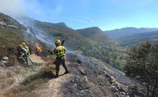 El periodo de «peligro alto» de incendios forestales finaliza con un fuego que quema 2 hectáreas en Las Machorras