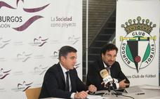 El Burgos CF y la Fundación Caja de Burgos buscan fomentar la inclusión social con el reparto de entradas