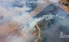 Los incendios intencionados de pastos, el mayor peligro para Burgos tras un verano libre de grandes fuegos
