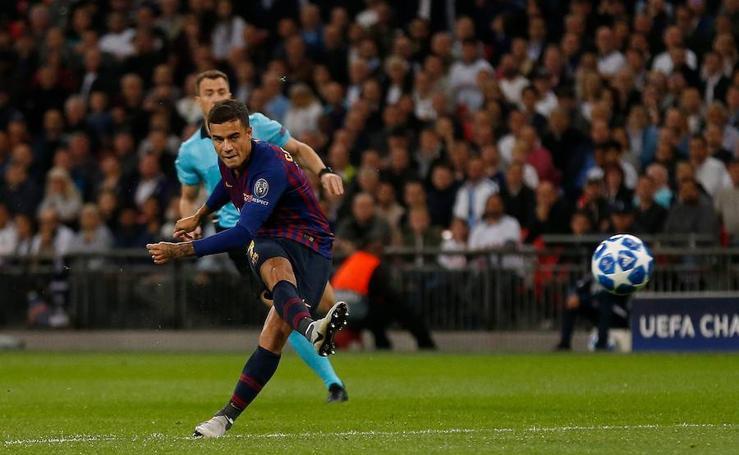 Las mejores imágenes del Tottenham-Barcelona