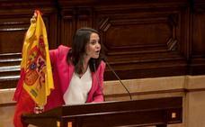 Arrimadas insta a Torra a que admita que no es posible la independencia