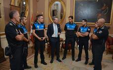 La Policía Local incorpora a cinco nuevos agentes