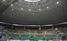 Lacalle confía en que la mejora de la acústica del Coliseum pueda ejecutarse a principios de diciembre