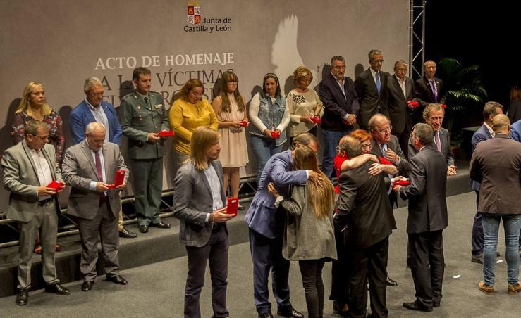 Homenaje a las víctimas del terrorismo de Castilla y León