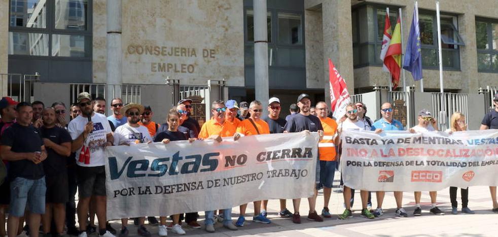 Un inversor extranjero, dispuesto a hacerse cargo de la planta de Vestas en León