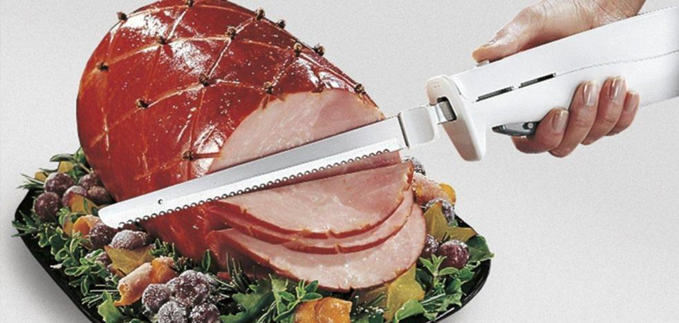 El cuchillo eléctrico, icono y peligro viejuno