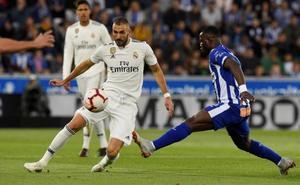 Benzema sufre una lesión en los isquiotibiales derechos