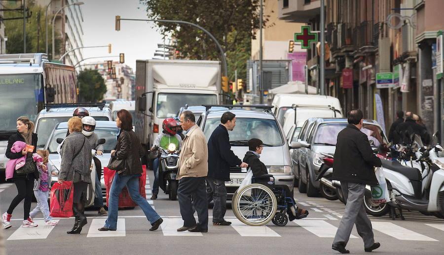 Ciclistas, peatones y motoristas rozan ya la mitad de las muertes en carretera