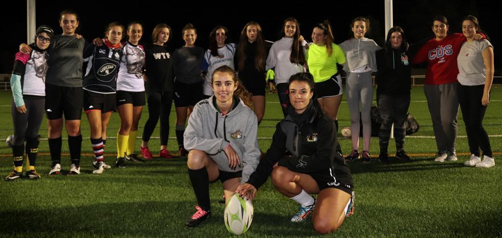 Aparejadores Rugby en femenino