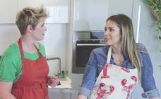 Tania Llasera y Rosanna Zanetti, juntas en la cocina