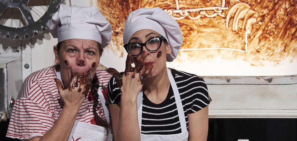 La Fundación Caja de Burgos presenta el este fin de semana una doble propuesta de Teatro Paraíso relacionada con el chocolate