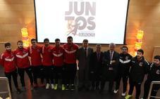 El Club Balonmano Burgos y Fundación Caja de Burgos caminan 'Juntos' por segundo año consecutivo