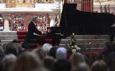 Baciero ofrece un concierto de piano en Burgos con motivo del VIII Centenario de la Catedral