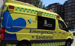 Cuatro heridos en la colisión de dos turismos en la CL-619 en La Horra