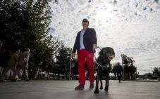 Meira, así es uno de los 44 perros guía que trabajan en Castilla y León