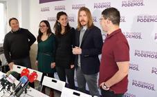 Pablo Fernández respalda a Salinero y Guinea como los «mejores candidatos» ante la próxima conformación de candidaturas