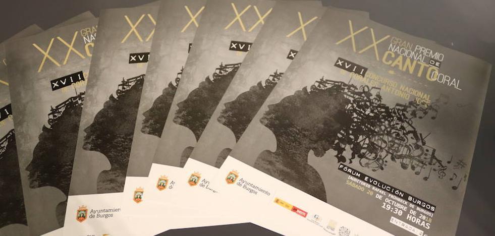 El Gran Premio Nacional de Canto Coral llega, por primera vez, a Burgos