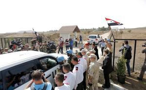 Abierto el paso fronterizo entre Siria e Israel en el Golán